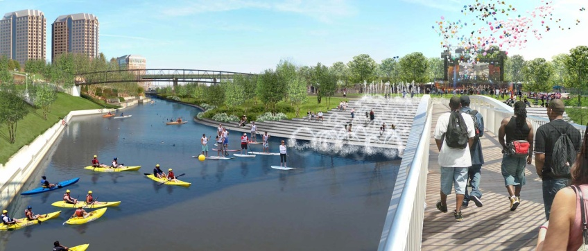 Hargreaves Plan for River Development